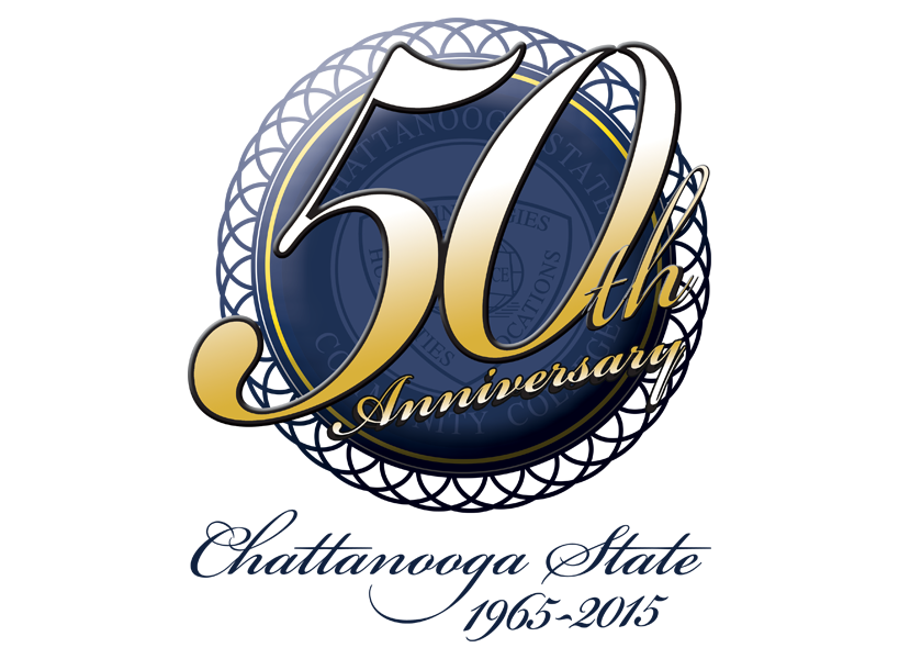 Chattanooga State 50th Anniversary Logo